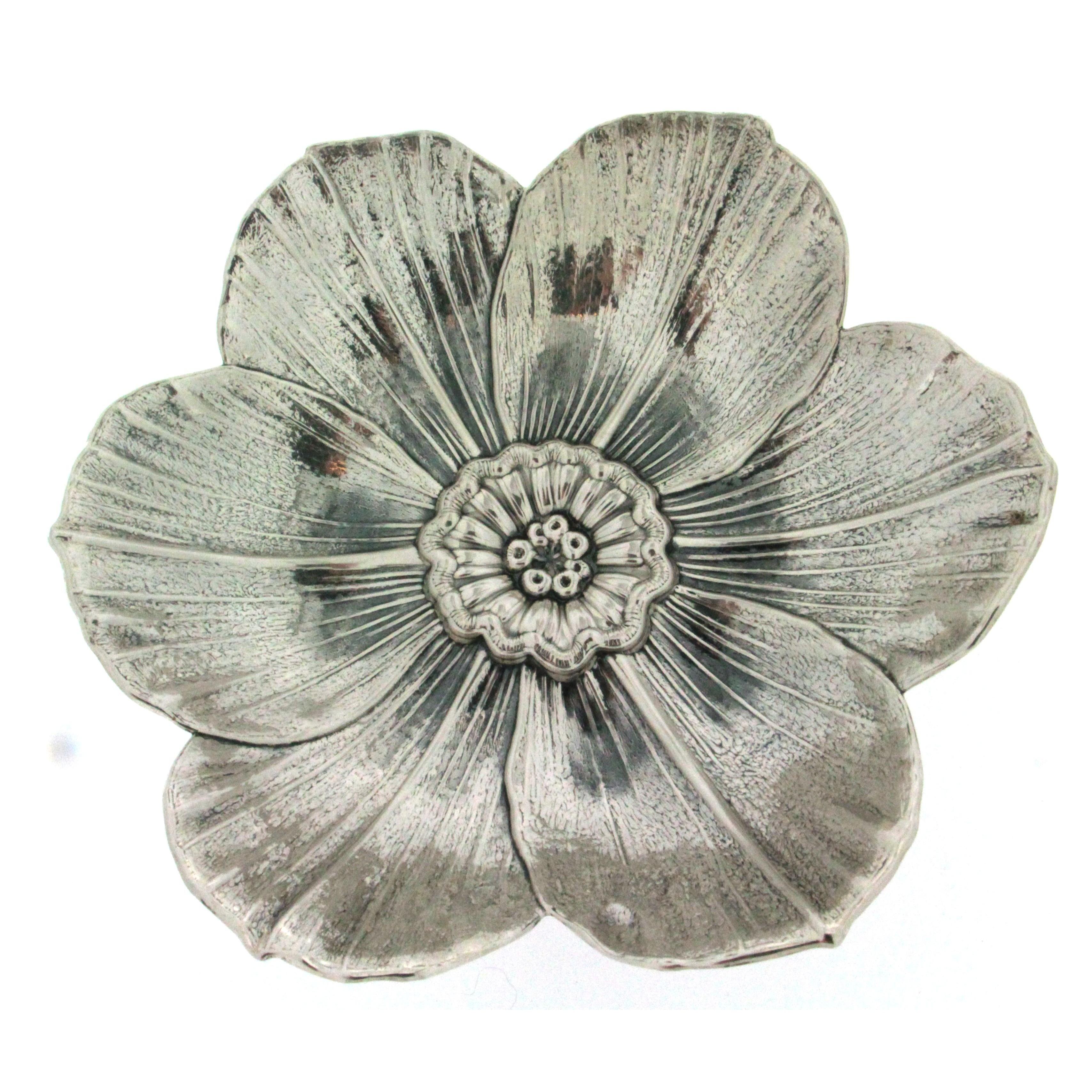 cercare autentica di fabbrica scarpe da skate Gianmaria Buccellati collezione Fioreargento fiore di Narcis argento 925