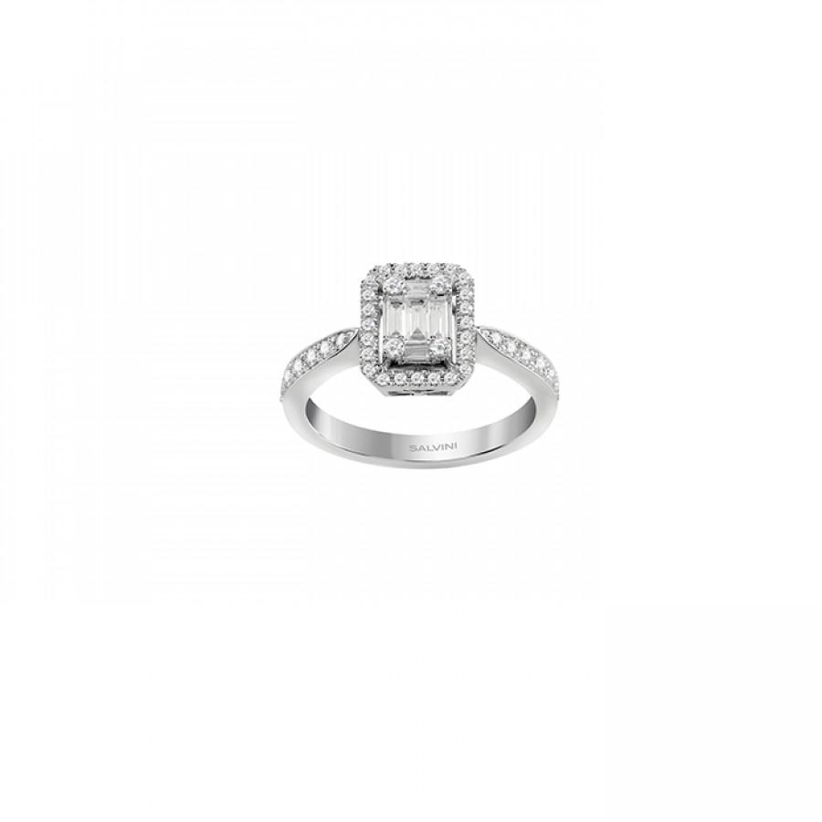 Anello diamanti - grande  Collezione  Magia s Salvini