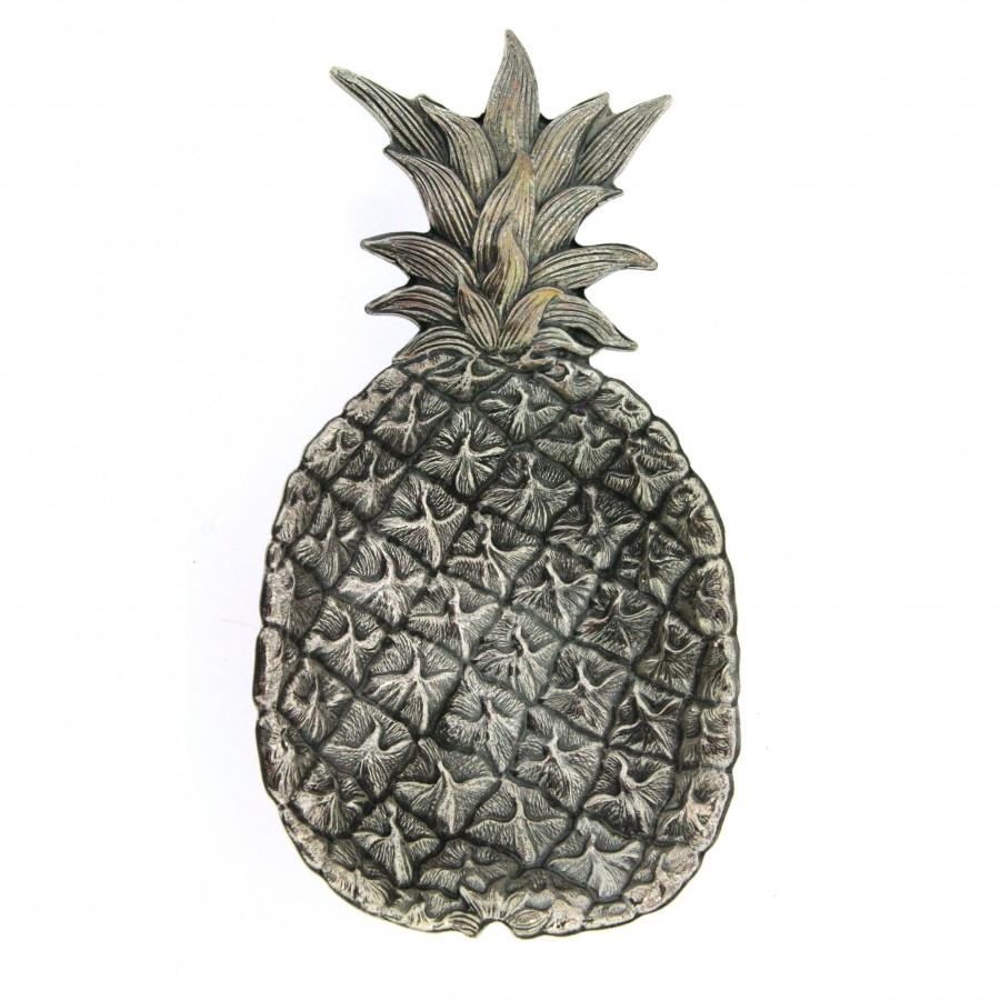 Gianmaria Buccellati, collezione Frutti, frutto di ananas argento 925 (