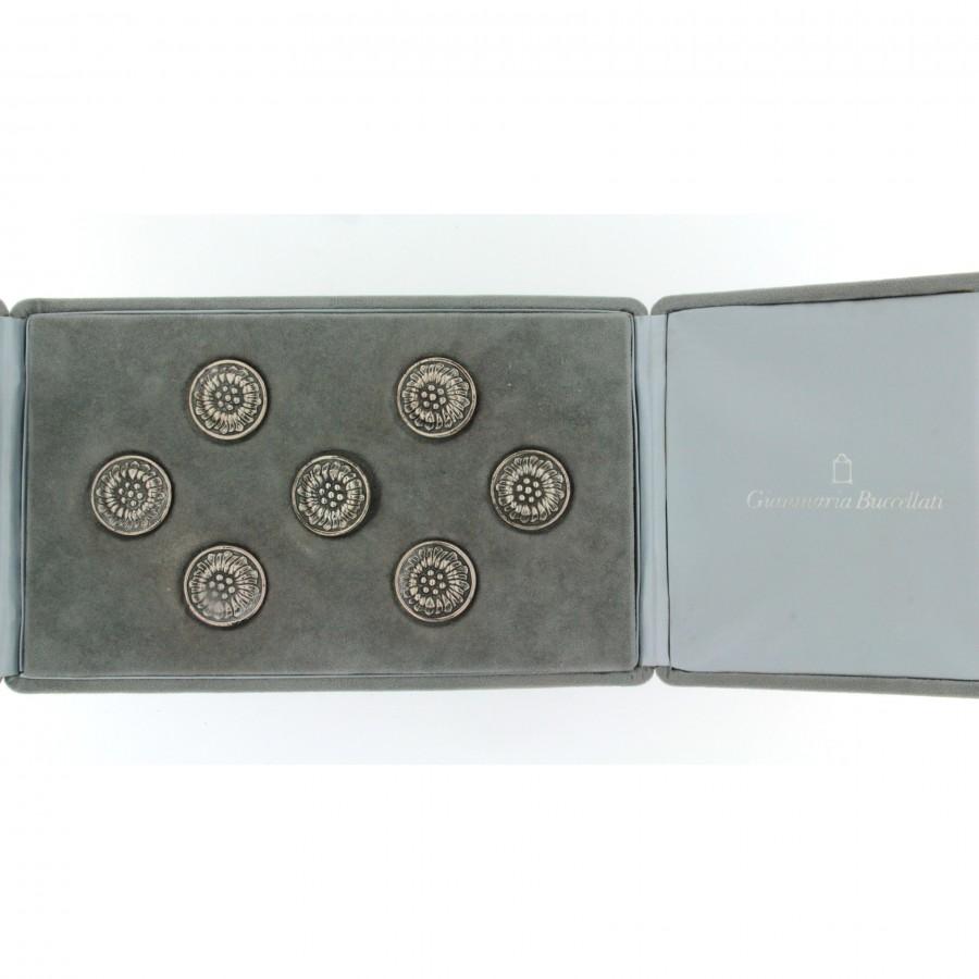 Buccellati 7 bottoni stella alpina