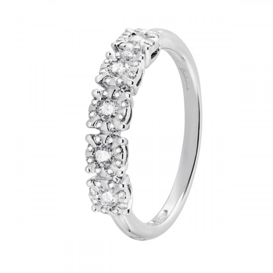 enorme sconto 962d2 c6b11 Veretta Salvini Collezione Daphne Miss oro bianco 18 kt e diamanti