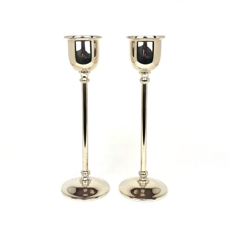 Due candelieri Cassetti in argento, moderni, usati, fatti a mano