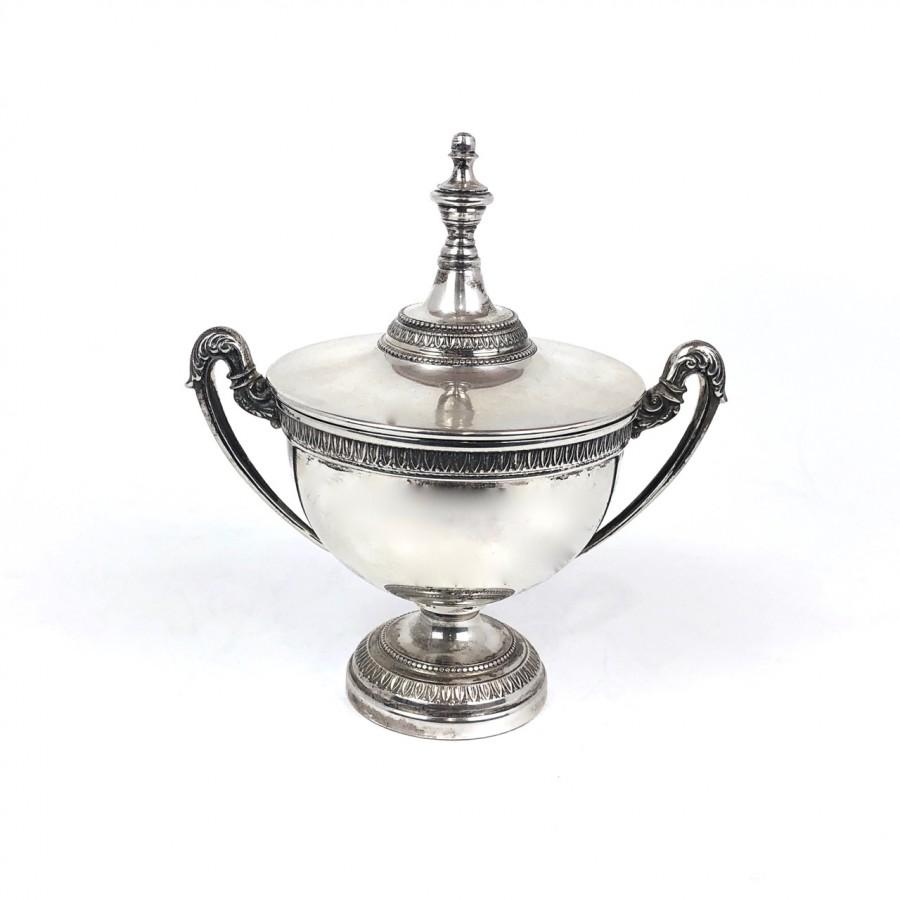 Zuccheriera argento arg.'800 Stile Impero Usata