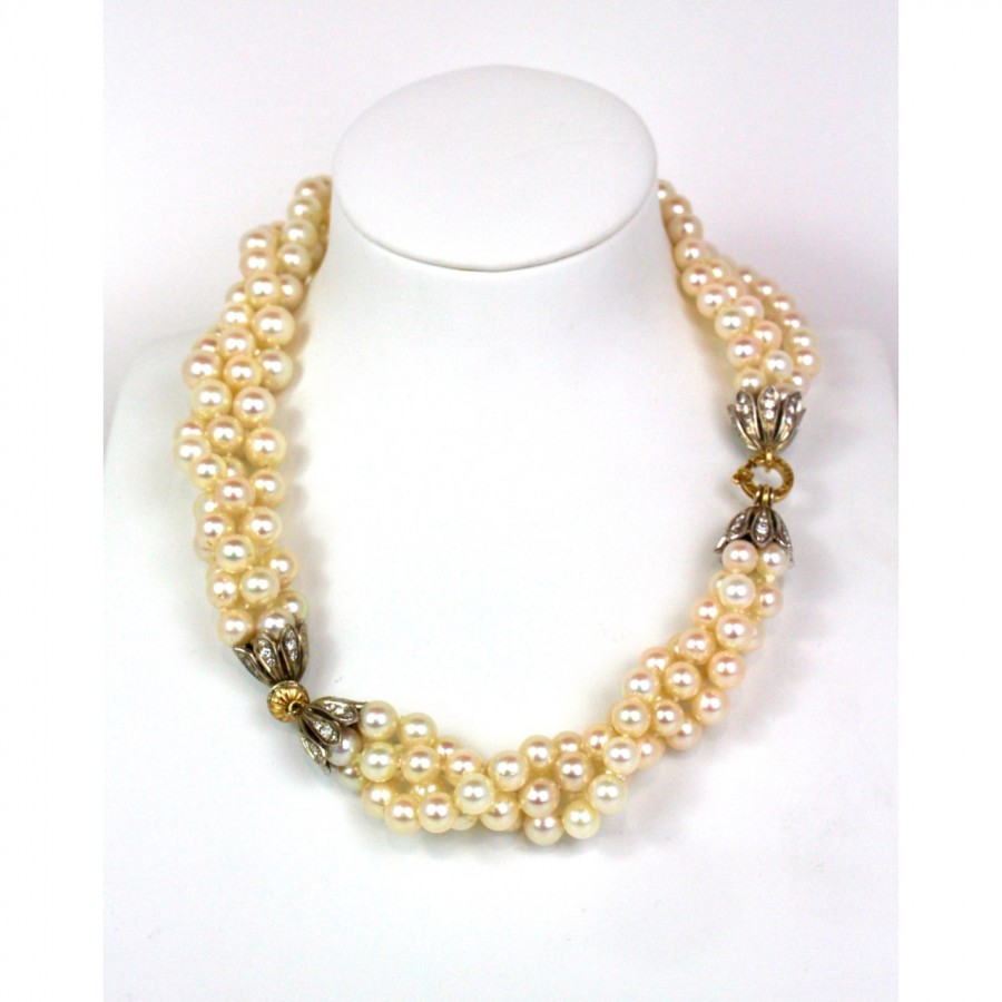 Collana perle Akoya Giappone