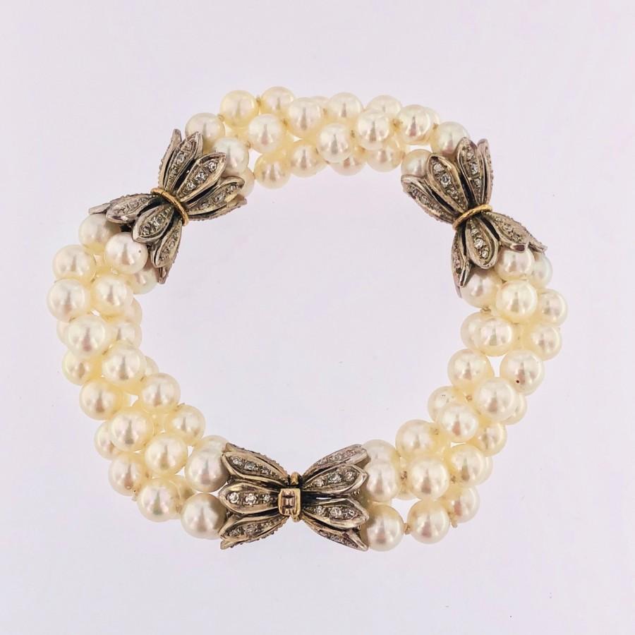 Bracciale perle Akoya Giappone