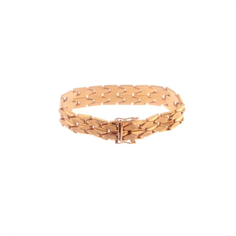 Bracciale in oro 750 anni 60/70