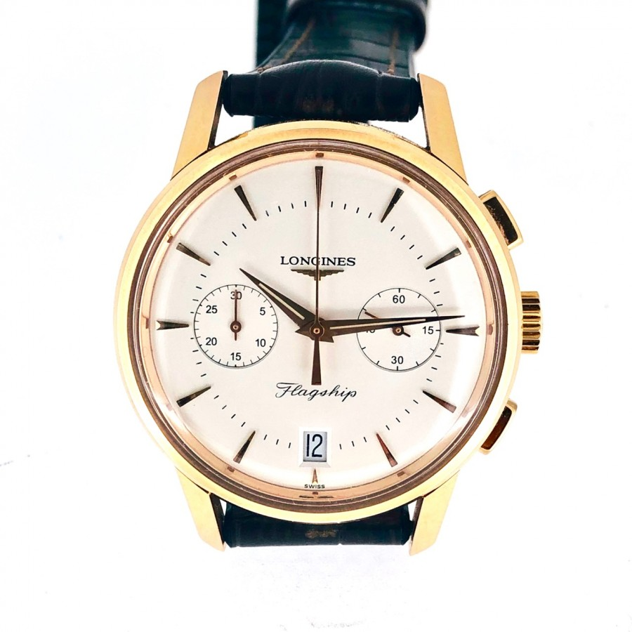 Orologio Longines Flagship Heritage L4.756.8.72.2 in oro