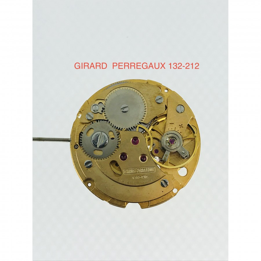 MECCANISMO USATO GIRARD-PERREGAUX 132-212