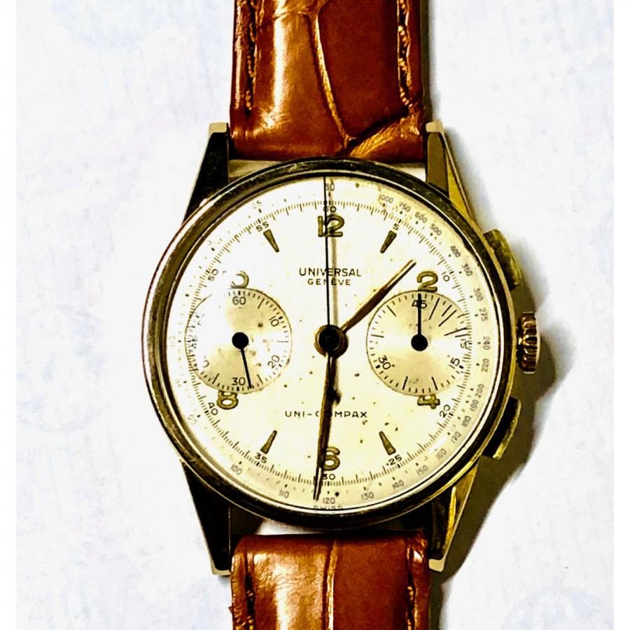 Orologio  usato Universal Cronografo vintagè Uni-Compax