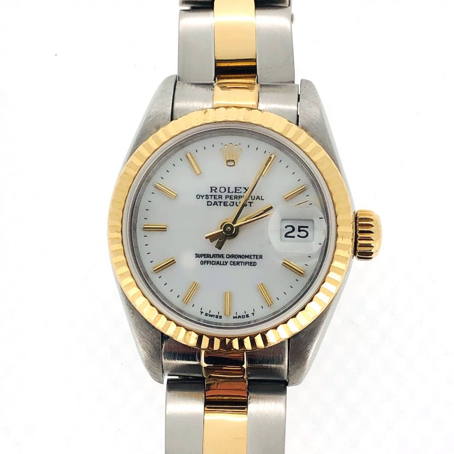 orologio Rolex Oyster Perpetual Lady Date in oro