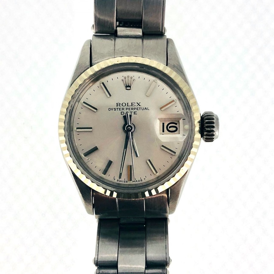 OROLOGIO ROLEX  OYSTER PERPETUAL LADY DATE 6517