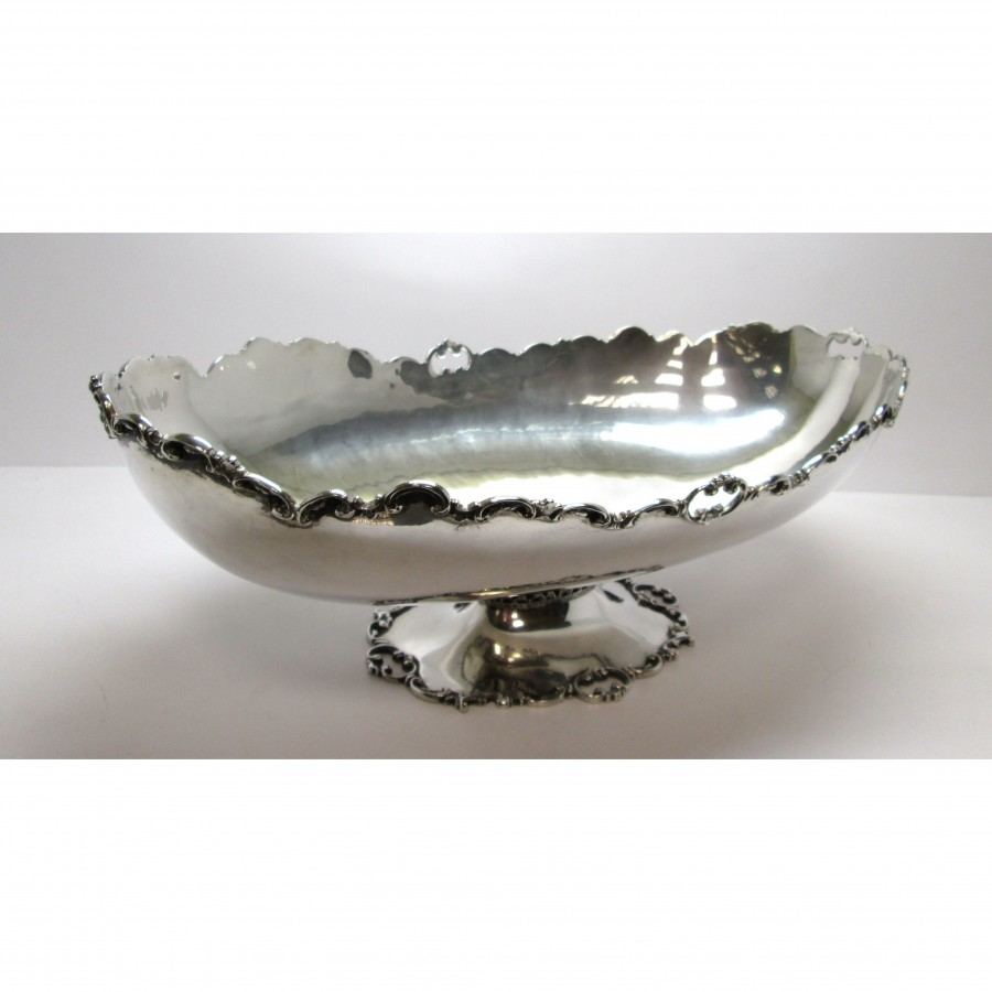 Jatte in argento 800 anni 30 lavorazione traforata