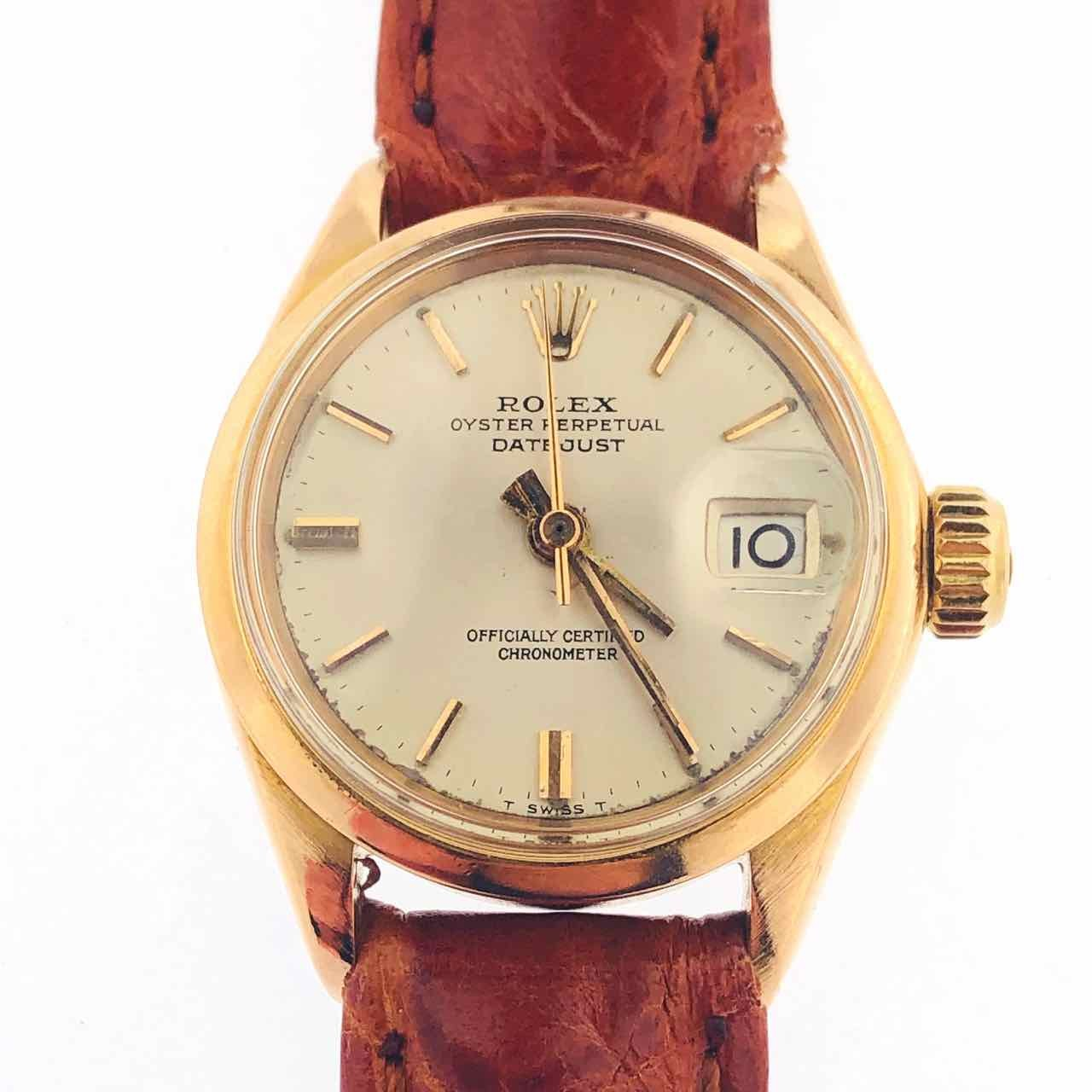 Orologio Usato 6516 Rolex Datejust Oro 5R4ALj