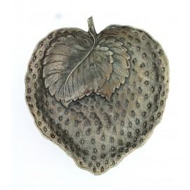 Gianmaria Buccellati, collezione Frutti, frutto della fragola, cm 12x13,5 argento 925