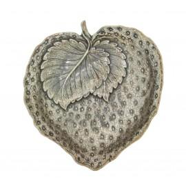 Gianmaria Buccellati, collezione Frutti, frutto della fragola, cm 9x8,5 in argento 925