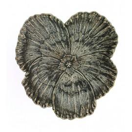Gianmaria Buccellati, collezione Fiori, fiore di viola, cm 13 in argento 925
