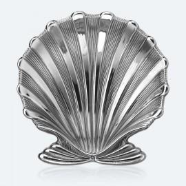 Gianmaria Buccellati, collezione Conchiglie, conchiglia Chlamys in argento 925