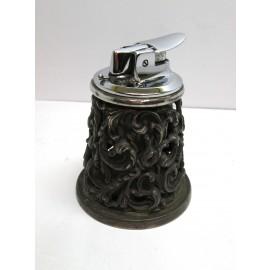 Accendino Ronson Germania acciaio e argento 800 anni 50