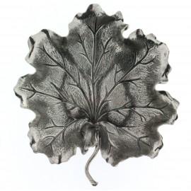 Buccellati foglia di geranio cm 10 in argento 925