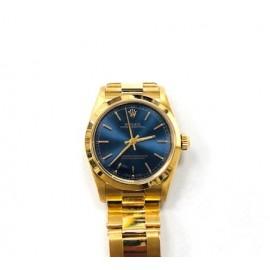 Orologio Rolex donna oro modello Oyster Perpetual medium 68278
