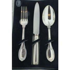 Coppia di set di posate in argento Gianmaria Buccellati argento 925