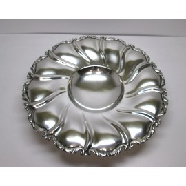 Piatto/centrotavola usato in argento 800 d'epoca anni 50
