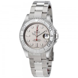 Orologio usato Rolex Yacht-Master acciaio/platino 168622