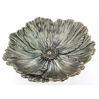 Gianmaria Buccellati, collezione Fiori, fiore di papavero argento 925