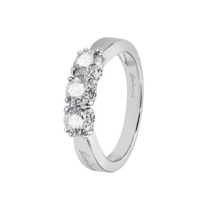 Anello Trilogy Salvini Collezione ARIANNA in oro bianco 18 kt e diamanti