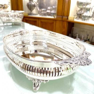Centrotavola ciotola argento 800 originale certificato