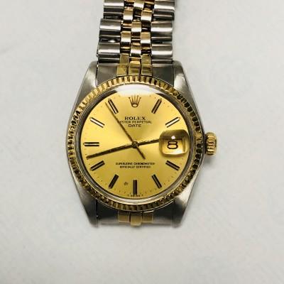Orologio Rolex 1500 Date acciaio oro