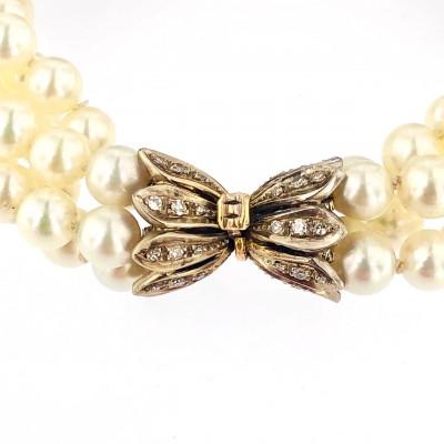 Bracciale perle Akoya Giappone usato