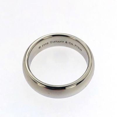 Anello a fascia in platino marca Tiffany 1999 Tiffany &Co usata