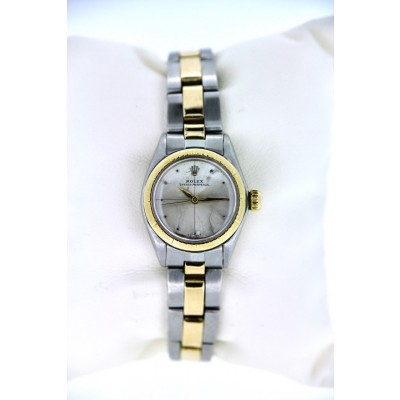 Orologio Rolex 6621 donna acciaio oro