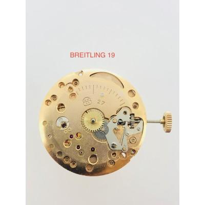 MECCANISMO USATO BREITLING 19 (FHF 27)