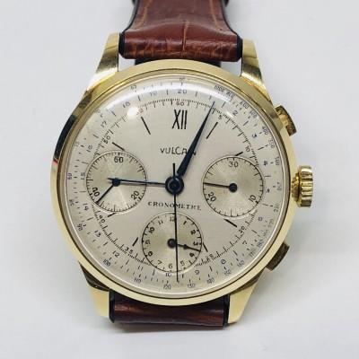 Orologio Vulcain Cronografo in oro