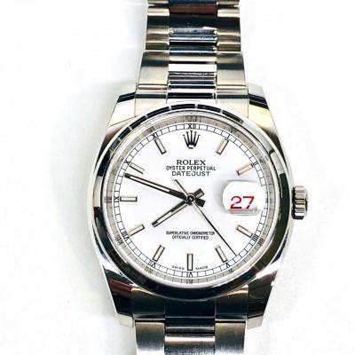 Orologio Rolex Datejust Acciaio 166200