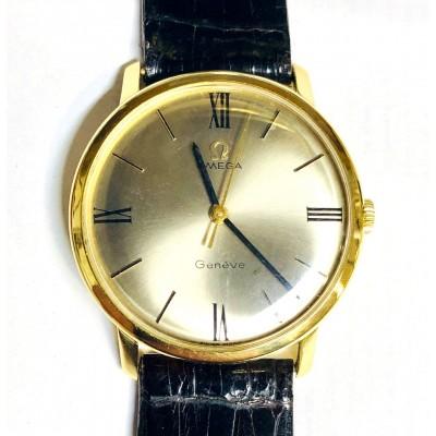 Orologio  usato Omega Genève in oro 18 kt