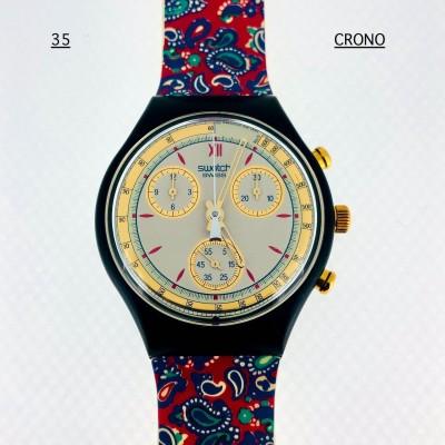 Lotto orologi Swatch Crono