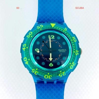 Lotto orologi Swatch Scuba usati
