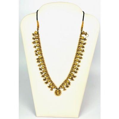 Collana oro 21 kt lavorazione mediorientale Usata