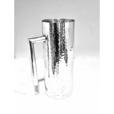 Brocca argento 800 usata stile moderno martellato