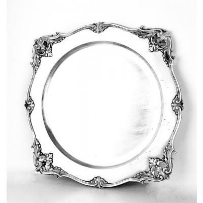 Piatto argento 800 stile antico usato