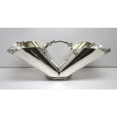 Portagrissini da tavola in argento 800 d'epoca