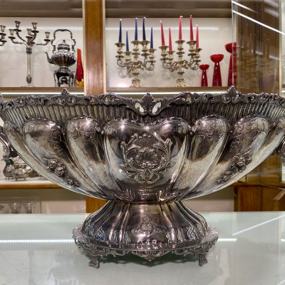 Jatte argento d'epoca 800 bollo fatta a mano