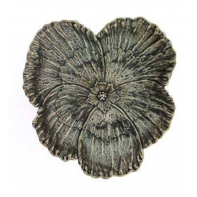 Gianmaria Buccellati, collezione Fiori, fiore di viola, cm 13