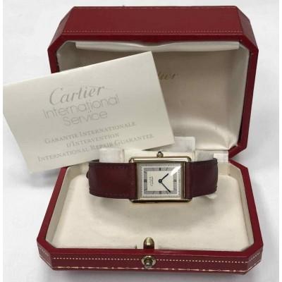 Orologio Cartier Must De Cartier Tank Vermeil usato