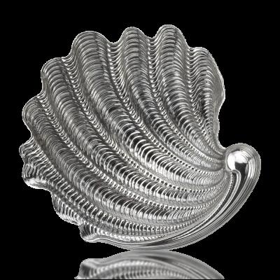 """Gianmaria Buccellati, collezione Conchigliargento, conchiglia """"Tridacna"""", cm 16 argento 925"""