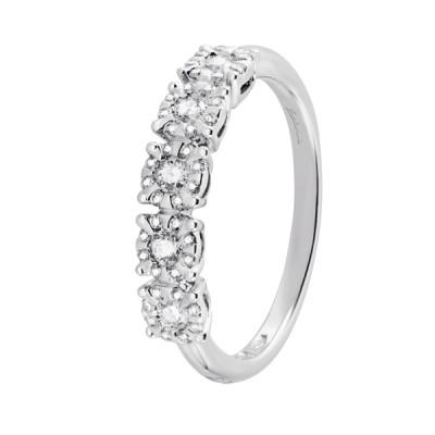 Veretta Salvini Collezione Daphne Miss oro bianco 18 kt e diamanti