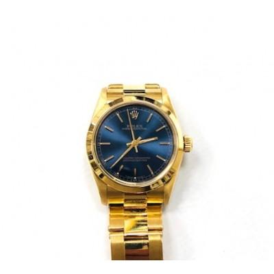 Orologio Rolex donna oro modello Oyster Perpetual medium anno 96 68278